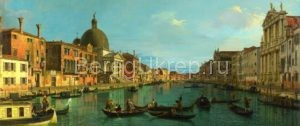 Full title: Venice: The Grand Canal with S. Simeone Piccolo Artist: Canaletto Date made: about 1740 Source: http://www.nationalgalleryimages.co.uk/ Contact: picture.library@nationalgallery.co.uk  Copyright © The National Gallery, London
