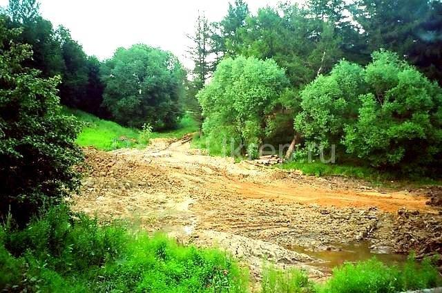Строительство пруда и укрепление берега лиственницей